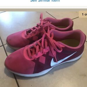 Nike Lunar Lux Pink Training TR Athletic Shoes 8